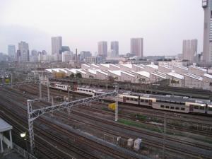 JR品川駅近隣の風景(田町・新橋方面写真)東京都港区港南、高輪、芝浦方面です。