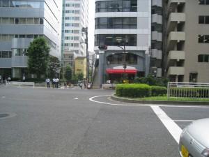 渋谷区明治通り沿いの投資用不動産(近隣の写真ですが対象物件は含まれていません)