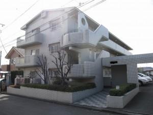 タイル張りのRCマンション(神奈川県横浜市青葉区)