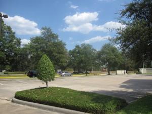 アメリカテキサス州ヒューストンの売りビルに付随する駐車場