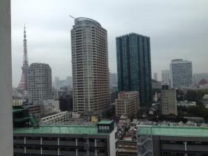 東京都港区麻布十番近隣のマンションから