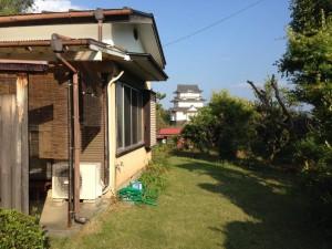 小田原城の見える戸建て住宅