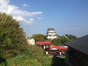 小田原城と相模湾の見える戸建て住宅