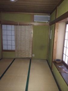 埼玉県任意売却物件 東武東上線沿線 和室リノベーション前