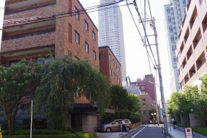 社長の住む町赤坂の未公開マンション